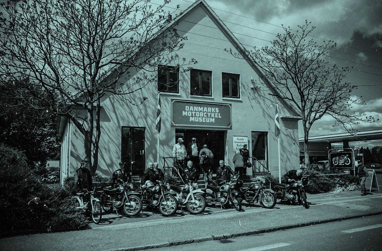 Danmarks Motorcykelmuseum facade