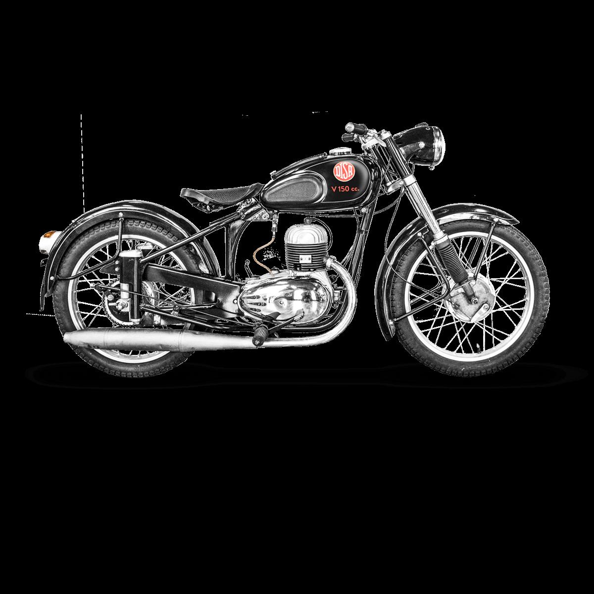Motorcykel 1940-1960