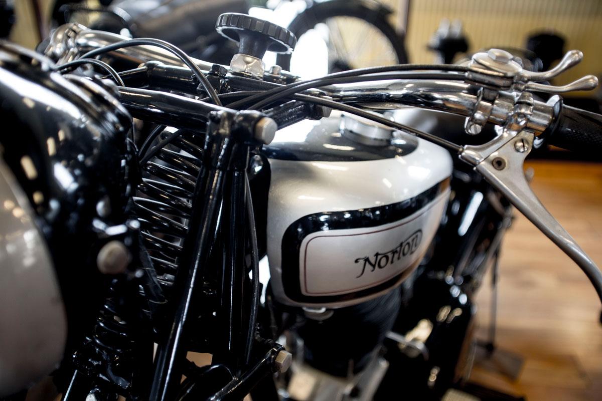 Norton Motorcyklel