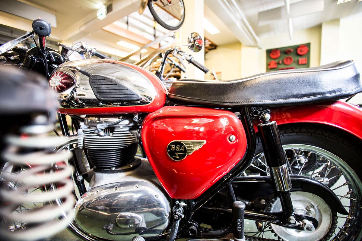 BSA Motorcyklel